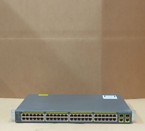 Cisco Catalyst WS-C2960-48PST-L 48 Port Layer 2 Managed PoE Network Switch